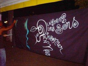 """Participation de Yé Clik à l'inauguration des """"Journées de l'Audition"""" (Port - Louis, vendredi 02 octobre 2009)"""
